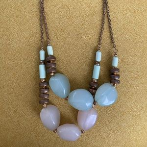 Pink & Mint necklace